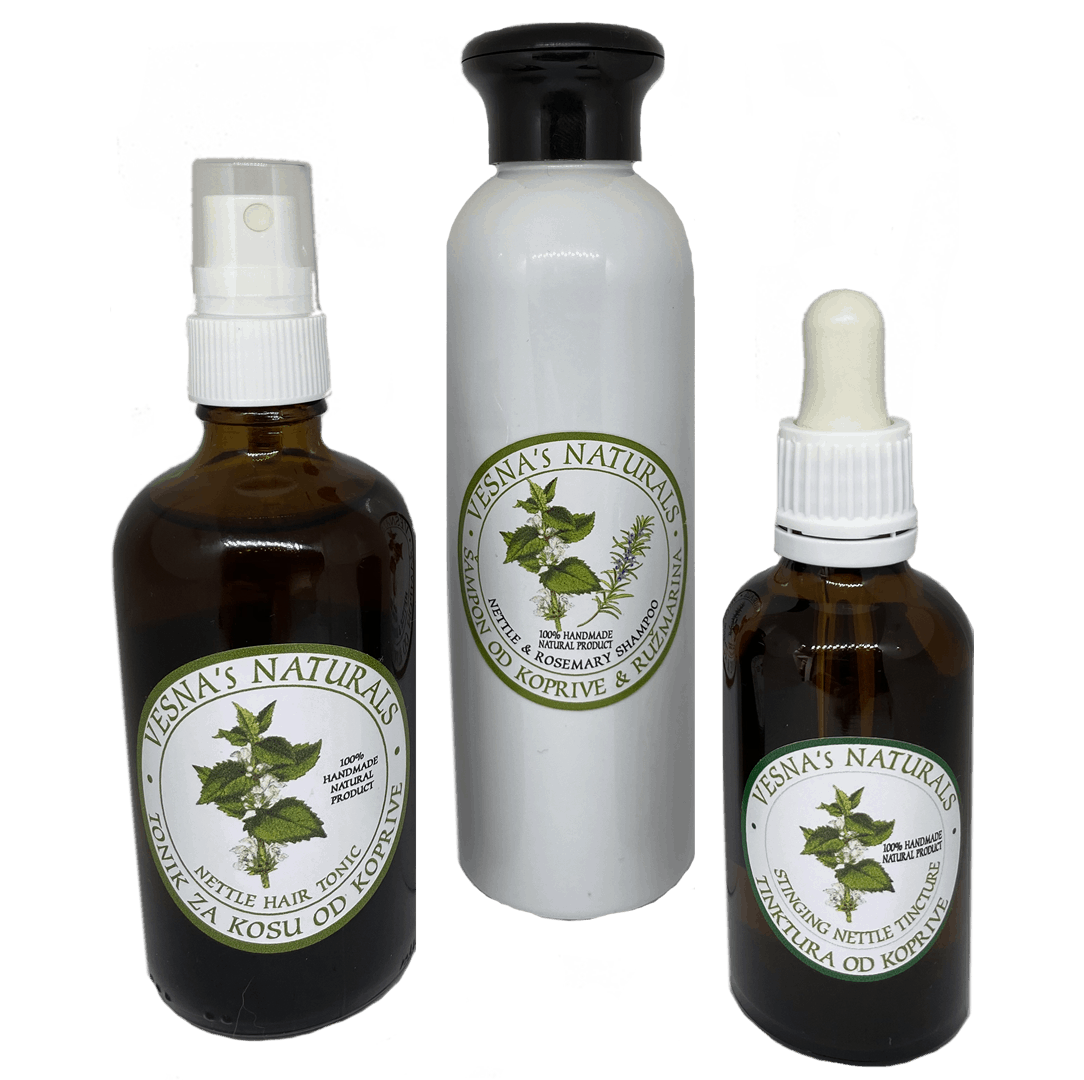 Stinging Nettle Hair Care Products