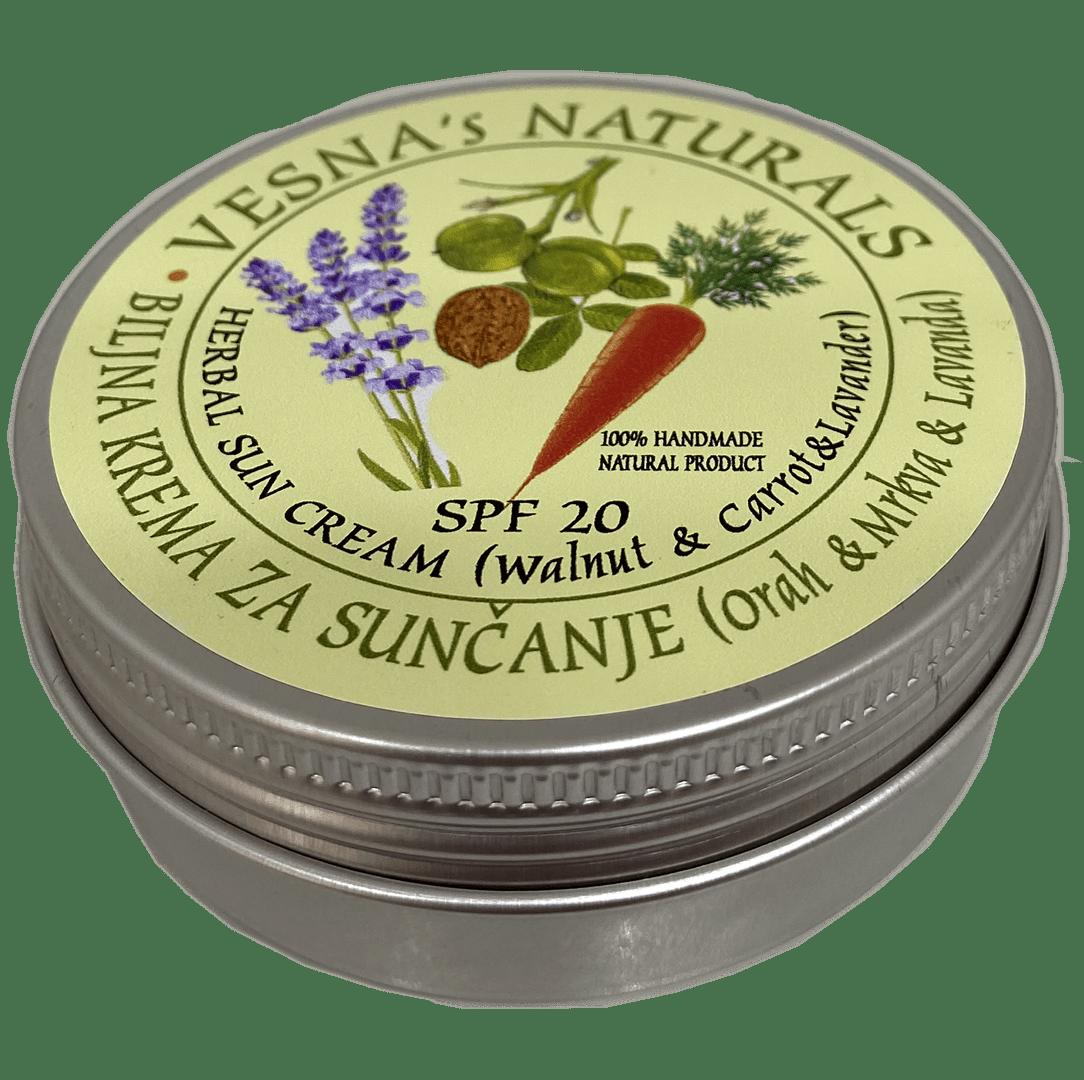 Herbal Sun Cream