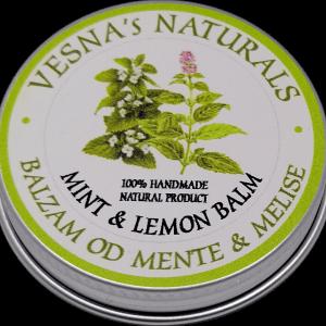 Mint & Lemon Balm Salve
