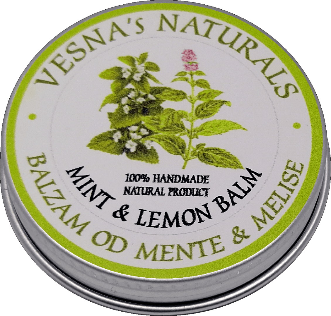 Mint & Lemon Balm Salve