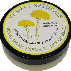 Moisturizing Immortelle Face Cream