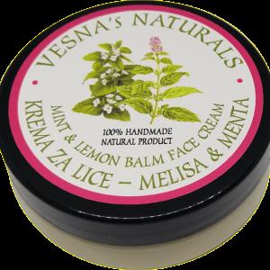 Mint & Lemon Balm Face Cream