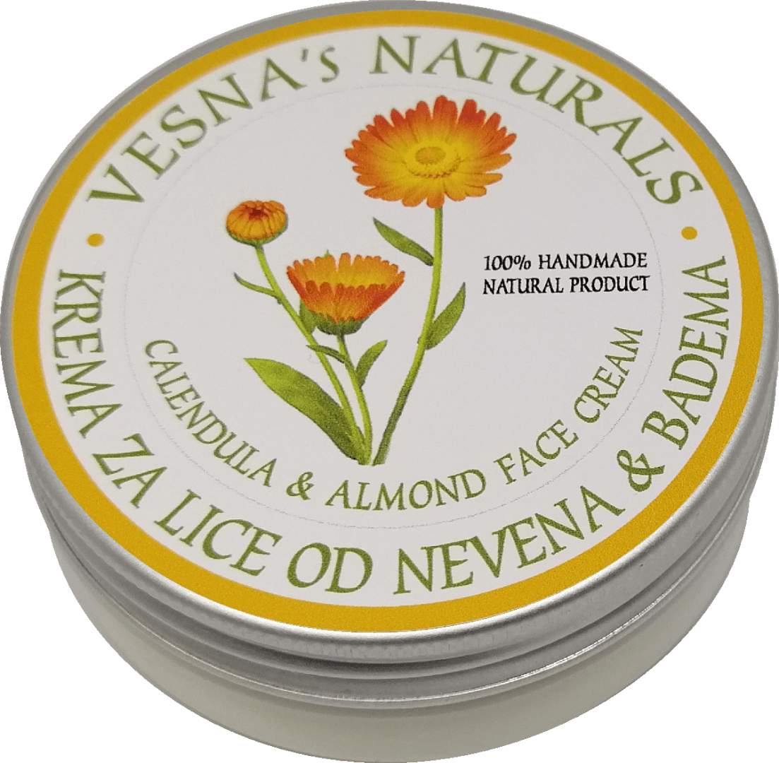 Calendula & Almond Face Cream
